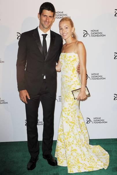 Novak Djokovic Jelena Ristic Married News Photos Celebrity News Gossip Glamour Com Glamour Uk