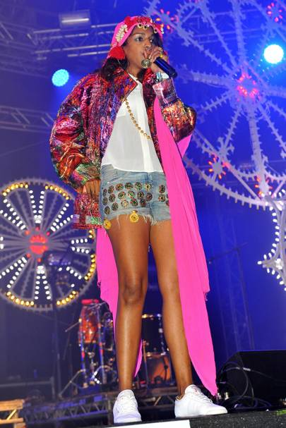 M.I.A at Bestival