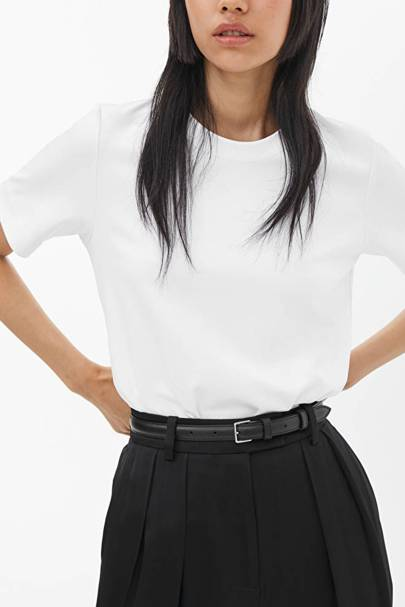 Best white t-shirt women: the heavyweight tee
