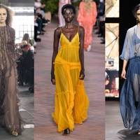 8. SHEER GOWNS