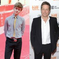 Thomas Sangster & Hugh Grant