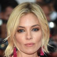 Sienna Miller's bronze smoky eyes