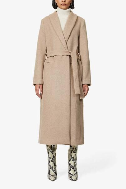 Selfridges Black Friday Sale: the wool-blend coat
