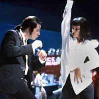 Vincent Vega and Mia Wallace