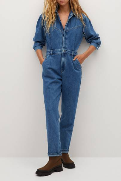 Mango Black Friday: The denim boilersuit