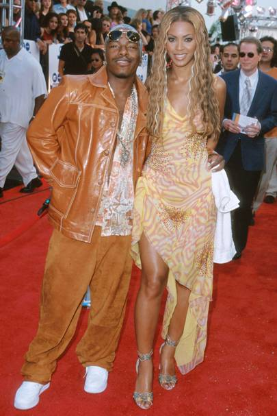 Sisqo and Beyoncé colour co-ordinate