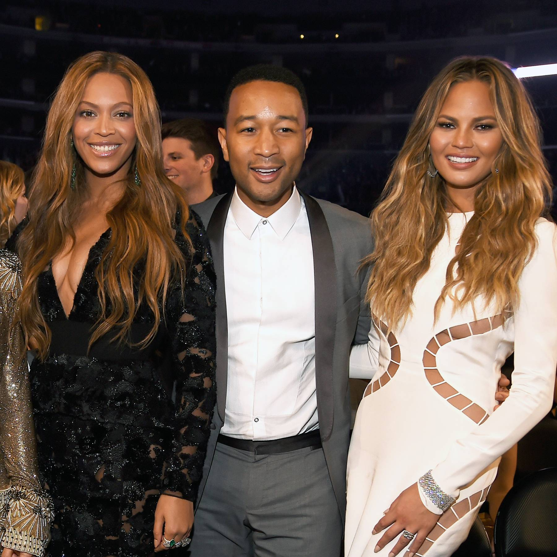 d3f31b7099f6a Chrissy Teigen s Reaction to Meeting Beyoncé At The GRAMMYs