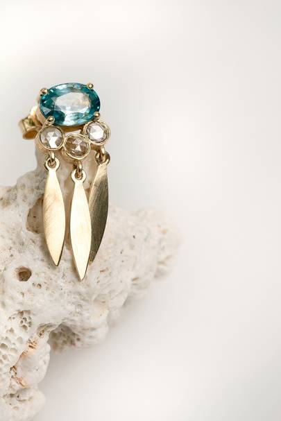 Yasmine Starlite Dream Catcher Earrings by Alkemeya Jewels