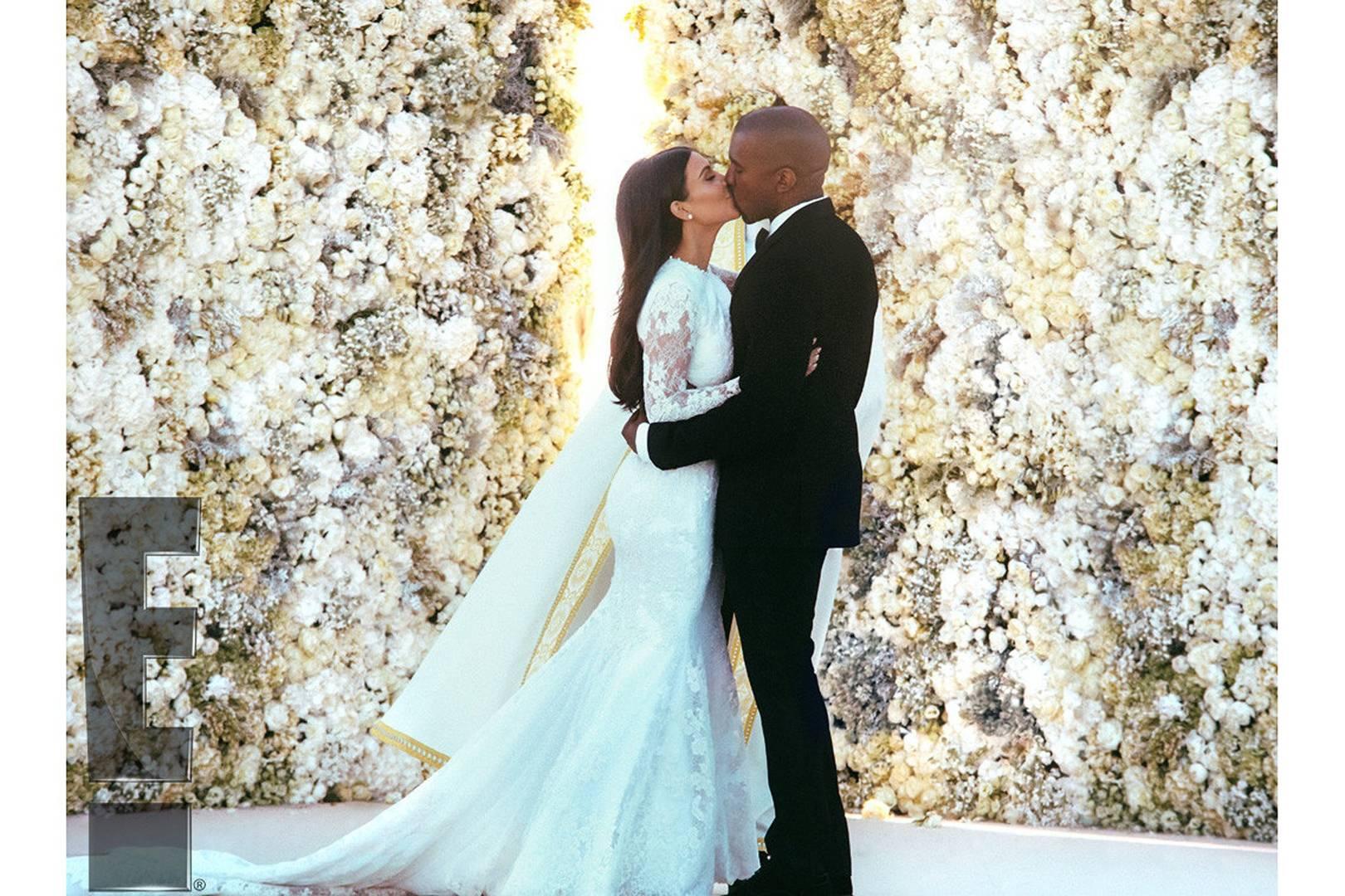 Kim kardashian wedding to kanye west engagement anniversary kim kardashian wedding to kanye west engagement anniversary pictures glamour uk ombrellifo Image collections