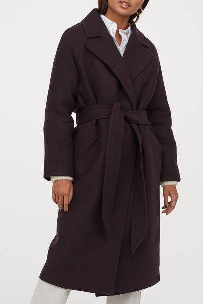 Best winter coat wool-blend