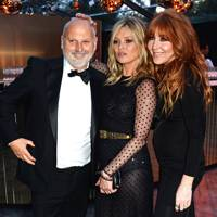Sam McKnight, Kate Moss and Charlotte Tilbury