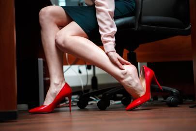 Why do women wear stilletos?