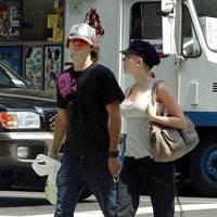 Jared Leto and Scarlett Johansson