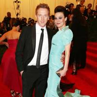 Damien Lewis & Helen McCrory at the Met Gala