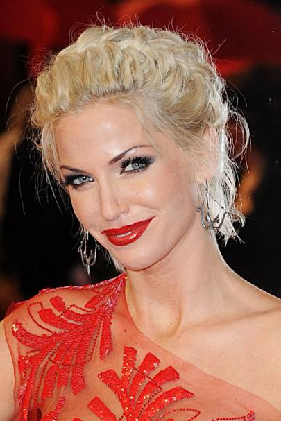 DON'T #2: Sarah Harding's messy up-do - February