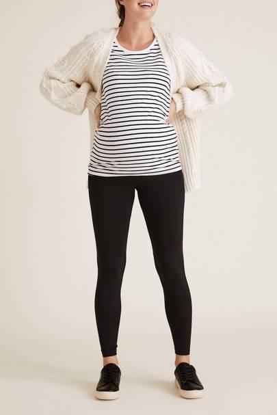 Maternity leggings M&S: best maternity leggings multi-pack