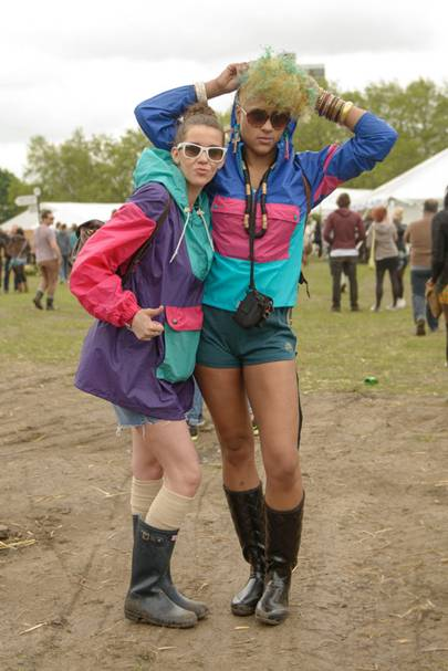 Tammy Challis & Chole Starr Balley, Ministry Of Sound Staff, Lovebox 2012