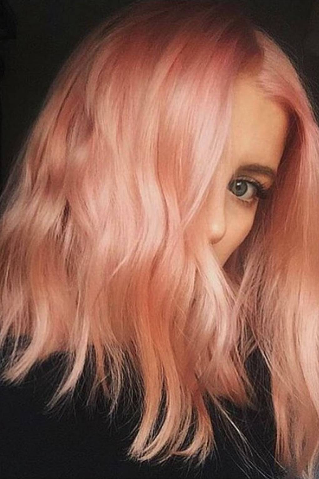 Rose Gold Hair Colour The Trend For The Perfect Pink Hair