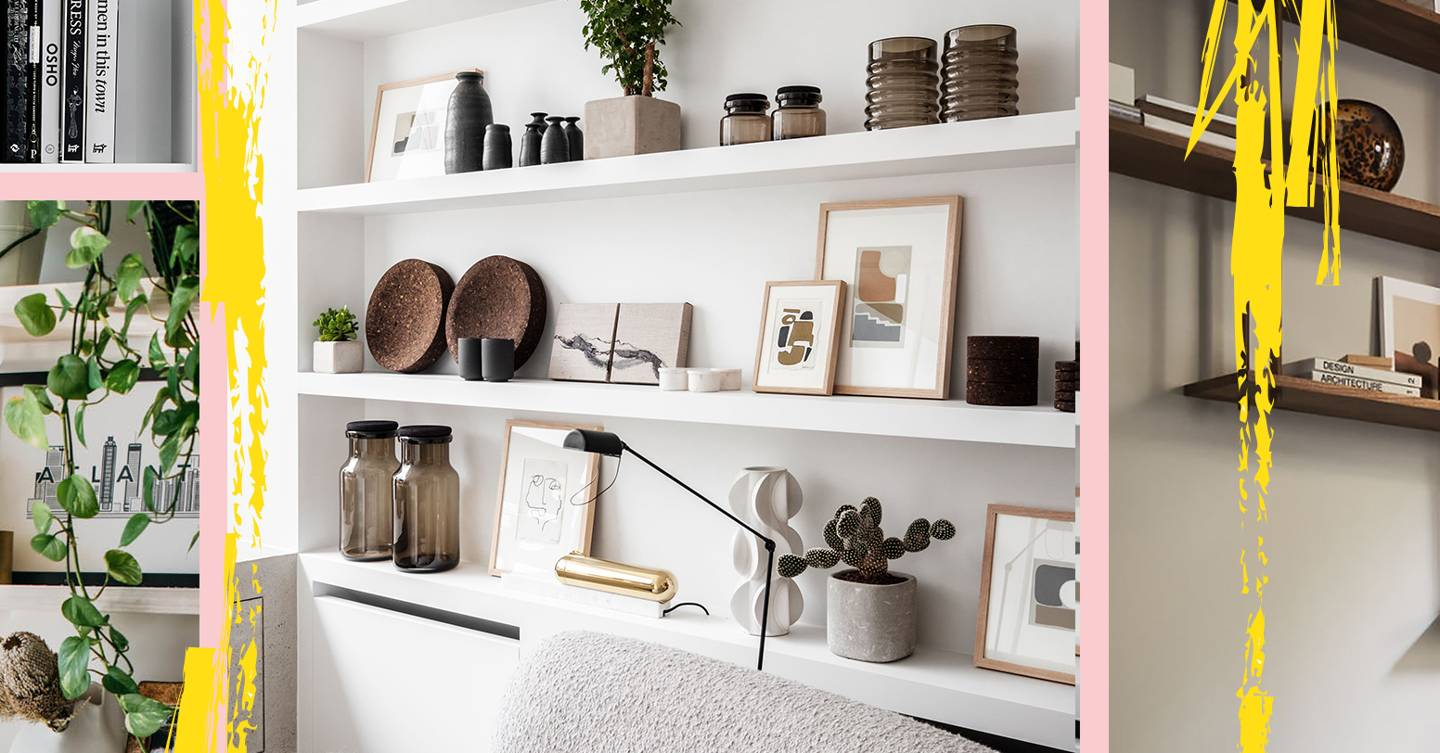 7 easy (and affordable) ways to make your shelves look like a Pinterest board