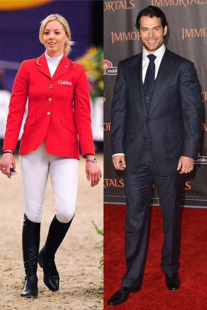 Henry Cavill & Ellen Whitaker