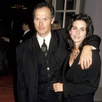 Michael Keaton & Courteney Cox