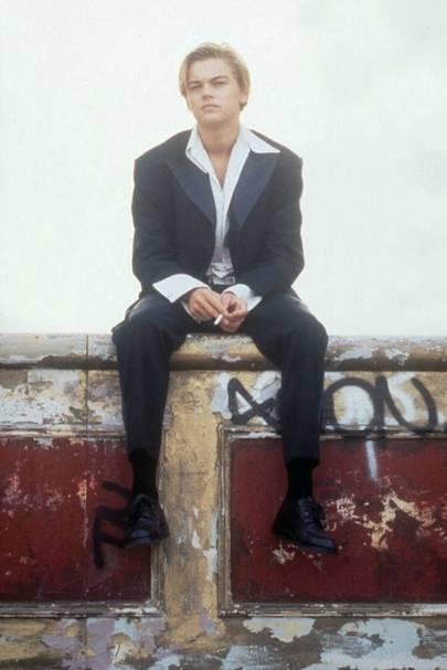 Romeo's louche suit