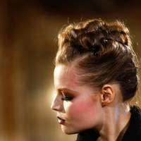 A (rather fiddly) updo