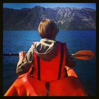 Then there was that day my life jacket matched my kayak. That was pretty great, too.