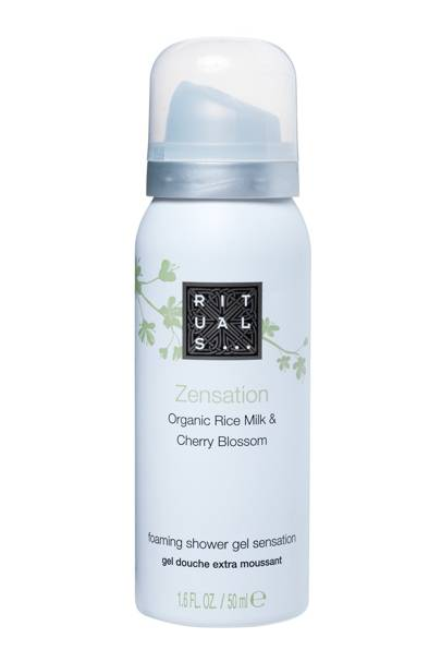 Rituals Zensation Organic Rice Milk & Cherry Blossom Foaming Shower Gel Sensation