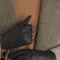Best woven leather winter gloves for women