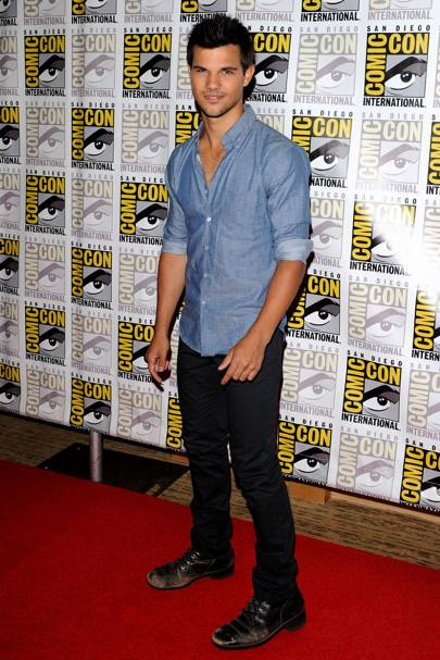 Taylor Lautner at Comic-Con 2012