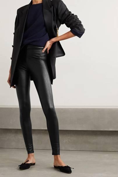 Best faux leather leggings
