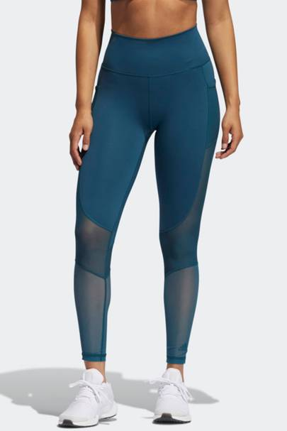 Best gym leggings with pockets: Adidas