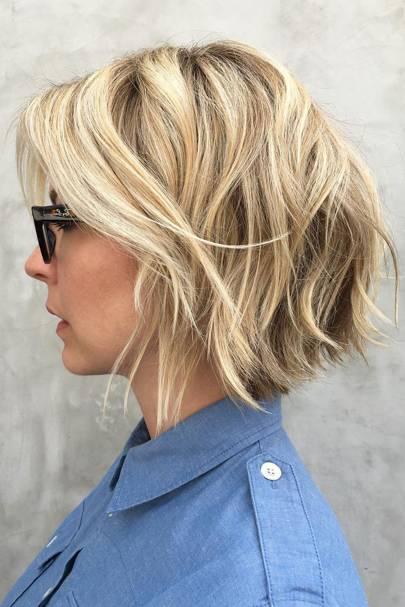 Best bobs for glasses wearers: The tousled bob