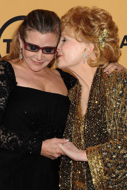 Carrie Fisher & Debbie Reynolds