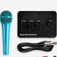 The karaoke set