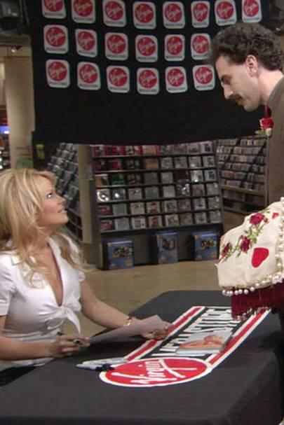 Pamela Anderson in Borat
