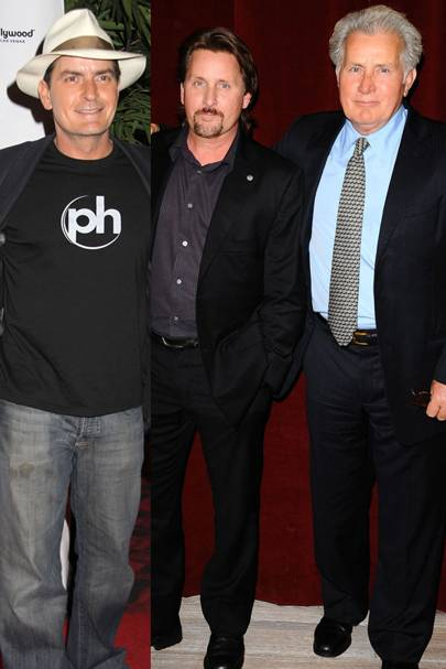 Charlie Sheen & Emilio Estevez & Martin Sheen