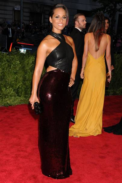 Alicia Keys at the Met Gala