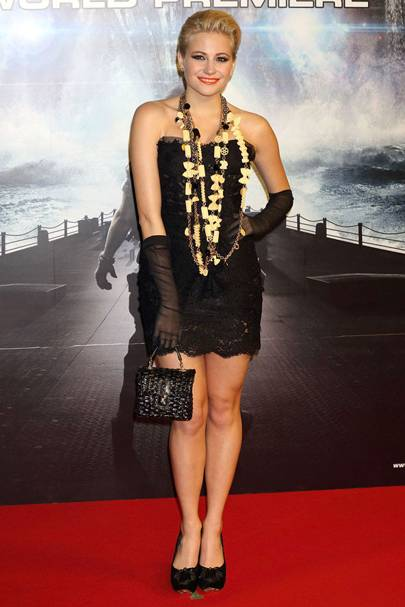 DON'T #14: Pixie Lott at the Battleship world premiere, April