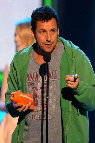 Adam Sandler at the Kids' Choice Awards
