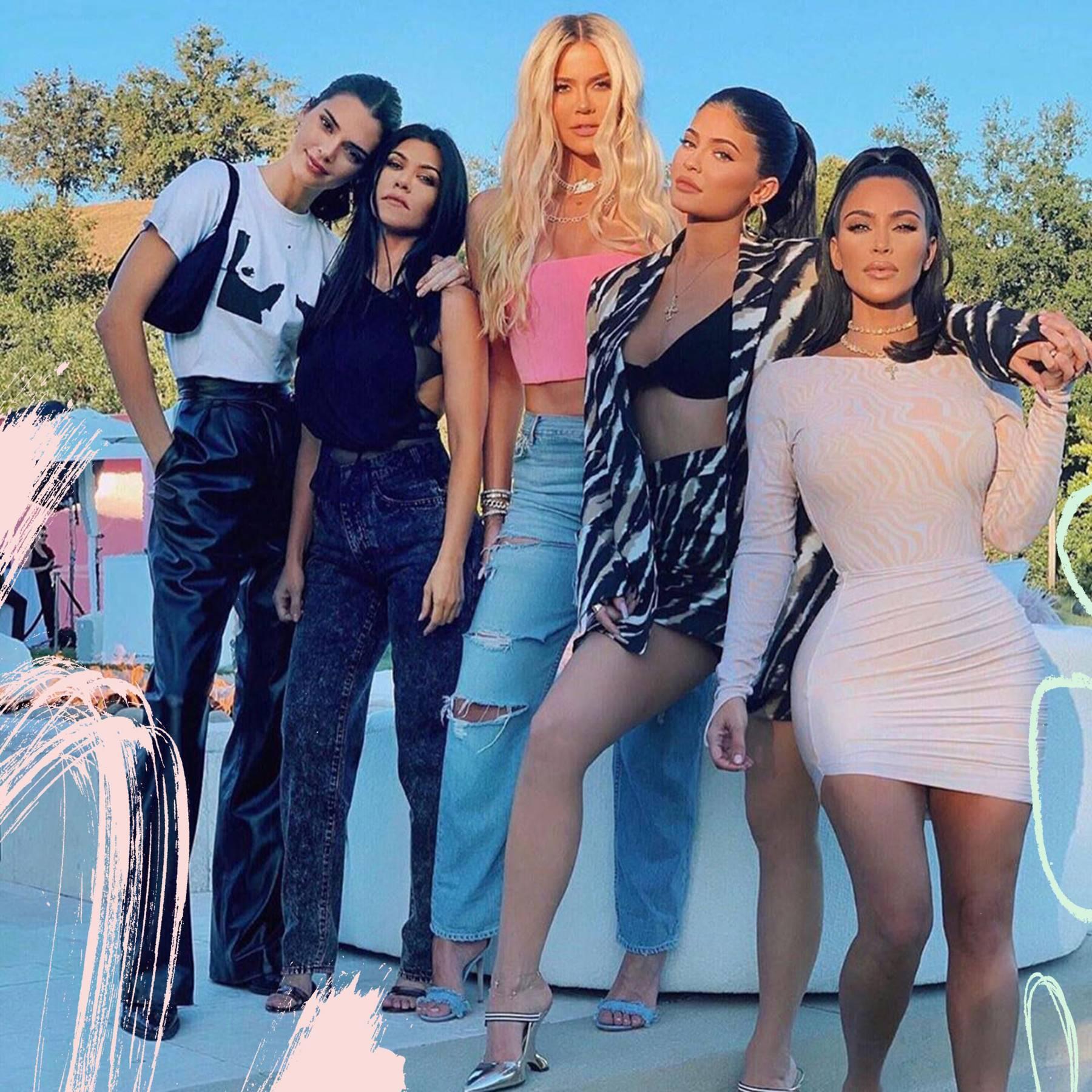 Kardashian Family Tree Who S Who In The Kardashians Jenners Glamour Uk