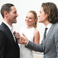 Michael Polish, Kate Bosworth & Orlando Bloom