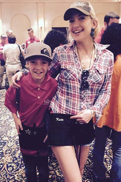 Kate Hudson & Ryder Robinson