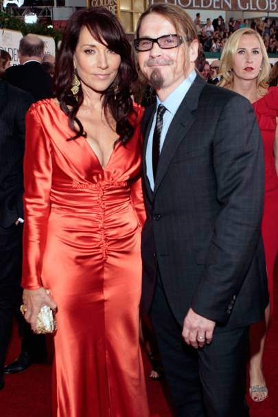 Katey Segal and Kurt Sutter