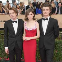 Joe Keery, Natalia Dyer and Charlie Heaton