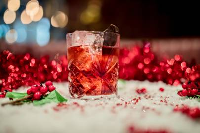 The Ruby Rum Fashioned