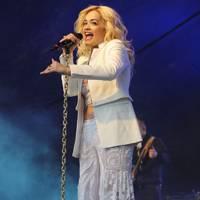 Rita Ora performs at Lovebox 2012