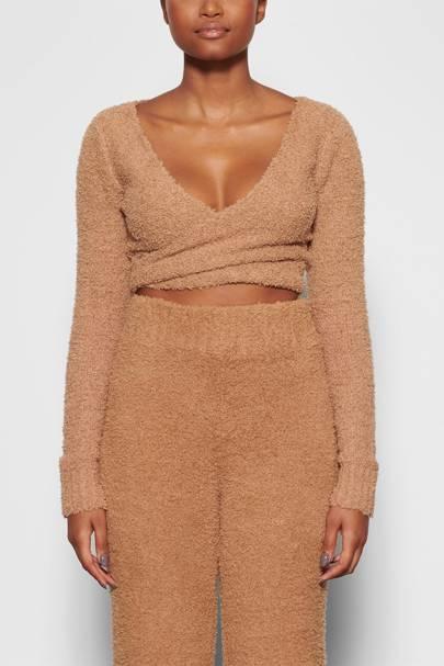 Skims Loungewear: the wrap top