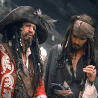 Keith Richards in Pirates of the Caribbean